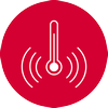 Temperatūras paaugstināšanās brīdinājuma skaņas signāls