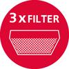 3 въглеродни филтъра