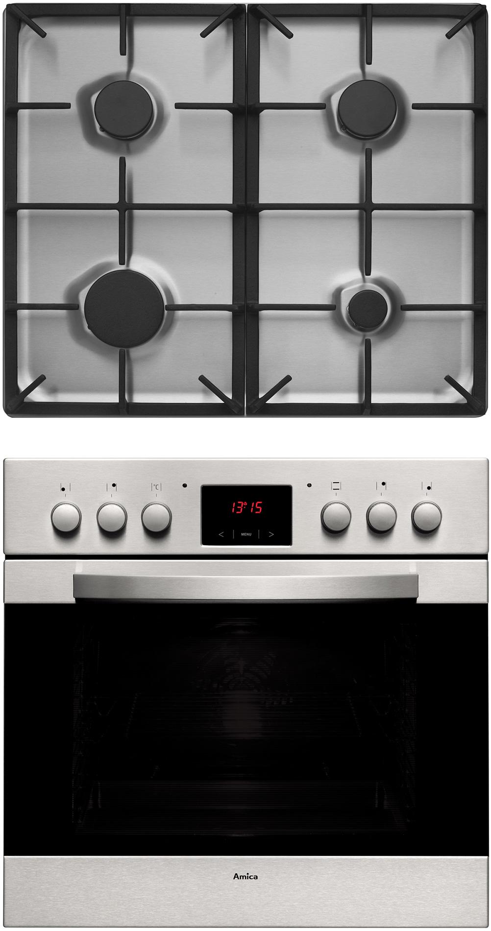 Kuchnia do zabudowy z płytą gazową Scandium GHS 75312 AA  Amica -> Kuchnia Gazowa Amica Cześci Zamienne