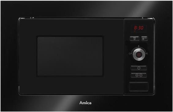 Kuchenka mikrofalowa do zabudowy AMMB20E1GB  Amica -> Kuchnie Elektryczne Amica Do Zabudowy
