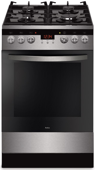 Free standing gas electric cooker 500 Line 56GcE3 33ZpTaA(Vrx)  Amica -> Kuchnia Amica Super Line Instrukcja