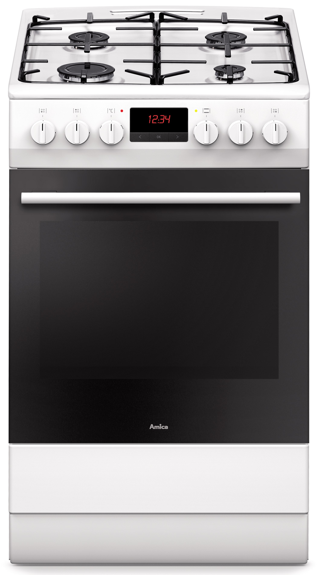 Kuchnia wolnostojąca gazowo elektryczna 510GED3 33ZpTaFQ(W)  Amica -> Kuchnie Elektryczne Wolnostojące Indukcyjne