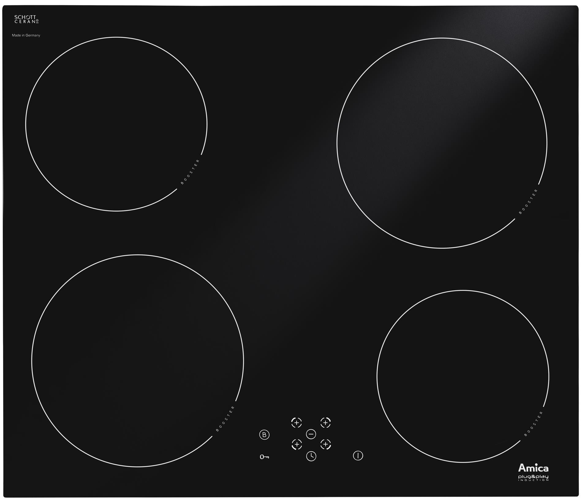 Płyta indukcyjna PI6508LNU  Amica -> Kuchnie Gazowe Elektryczne Amica