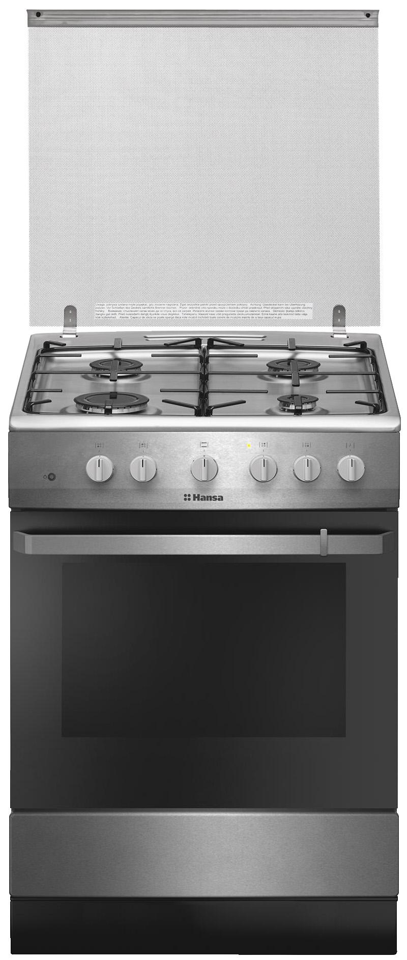 FCGX621009 - Laisvai statoma viryklė su dujine kaitlente