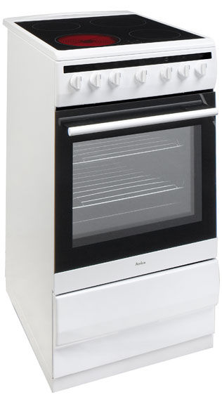 50 cm freestanding cooker with ceramic hob 508CE2Ms(W) -> Kuchnie Gazowe Amica Akcesoria