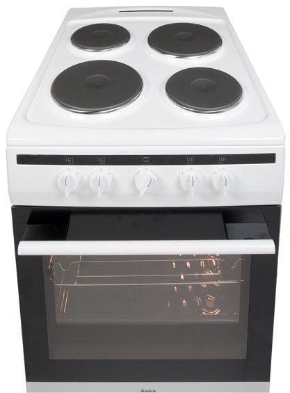 50 cm freestanding cooker with electric hob 508EE1(W) -> Kuchnie Gazowe Amica Akcesoria