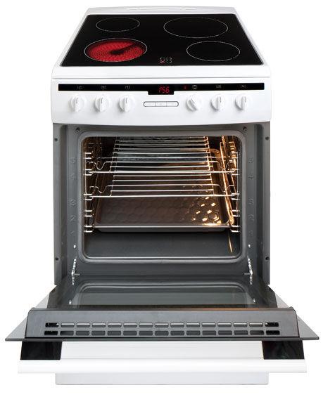 60 cm freestanding cooker with ceramic hob 608CE2Ta(W) -> Kuchnie Gazowe Amica Akcesoria