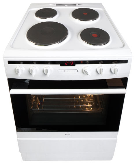 60 cm freestanding cooker with electric hob 608EE2Ta(W) -> Kuchnie Gazowe Amica Akcesoria