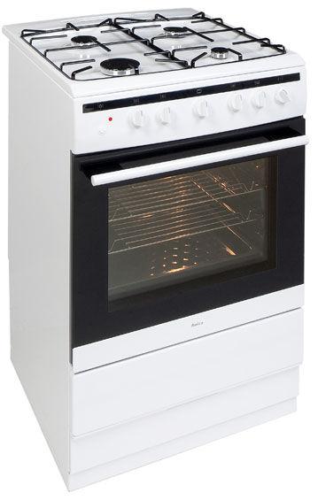 60 cm freestanding cooker with gas hob 608GG5Ms(W) -> Kuchnie Gazowe Amica Akcesoria