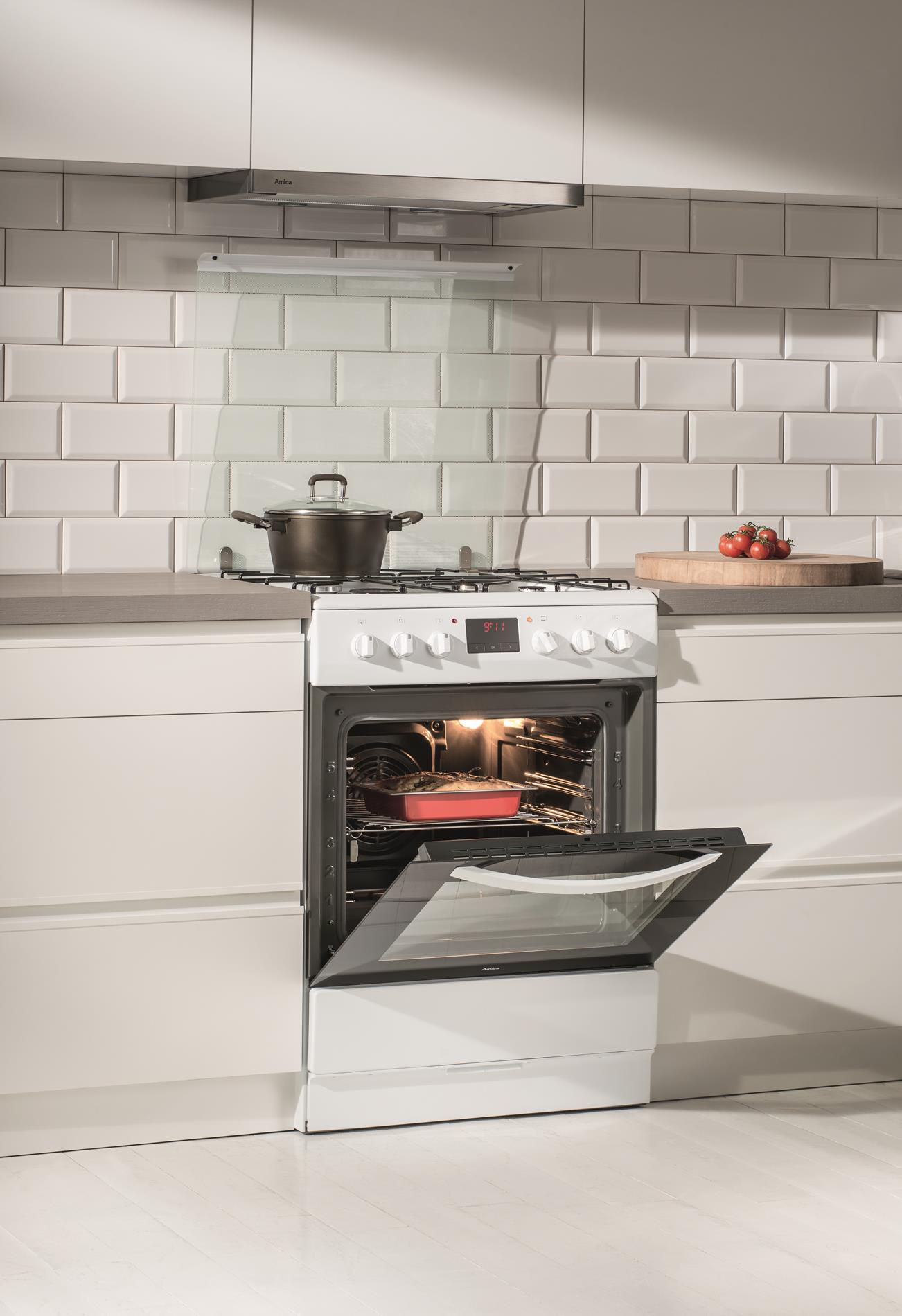 Kuchnia wolnostojąca gazowo elektryczna 600 620GE3