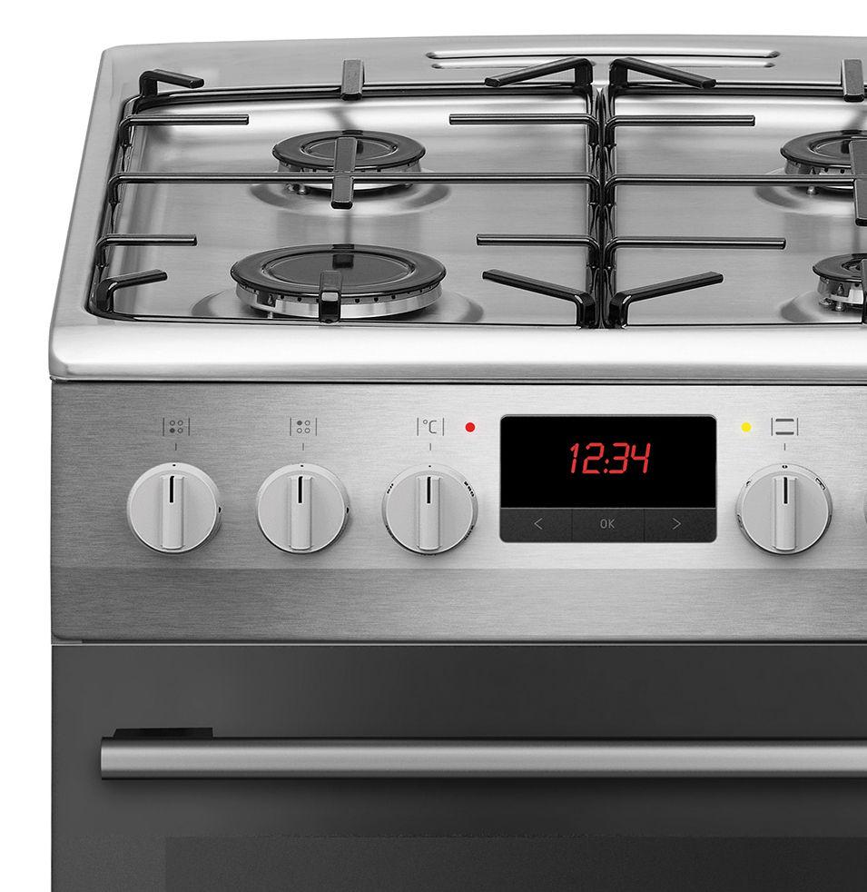 Kuchnia wolnostojąca gazowo elektryczna 500 510GE3 33ZpTaF(Xx)  Amica -> Kuchnia Elektryczna Wolnostojąca Amica