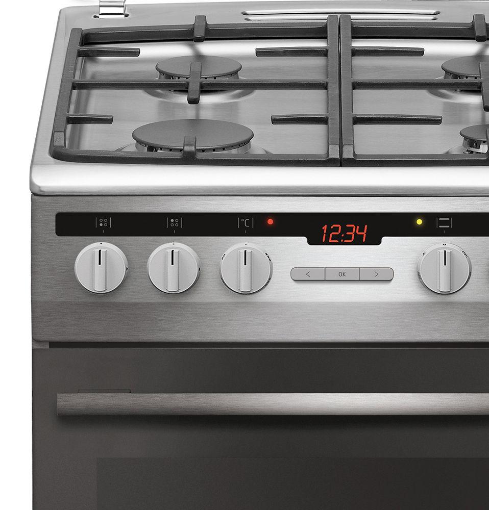 Kuchnia wolnostojąca gazowo elektryczna 500 57GE3 33HZpTaDAQ(Xx)  Amica -> Kuchnia Amica Instrukcja Obslugi Piekarnika