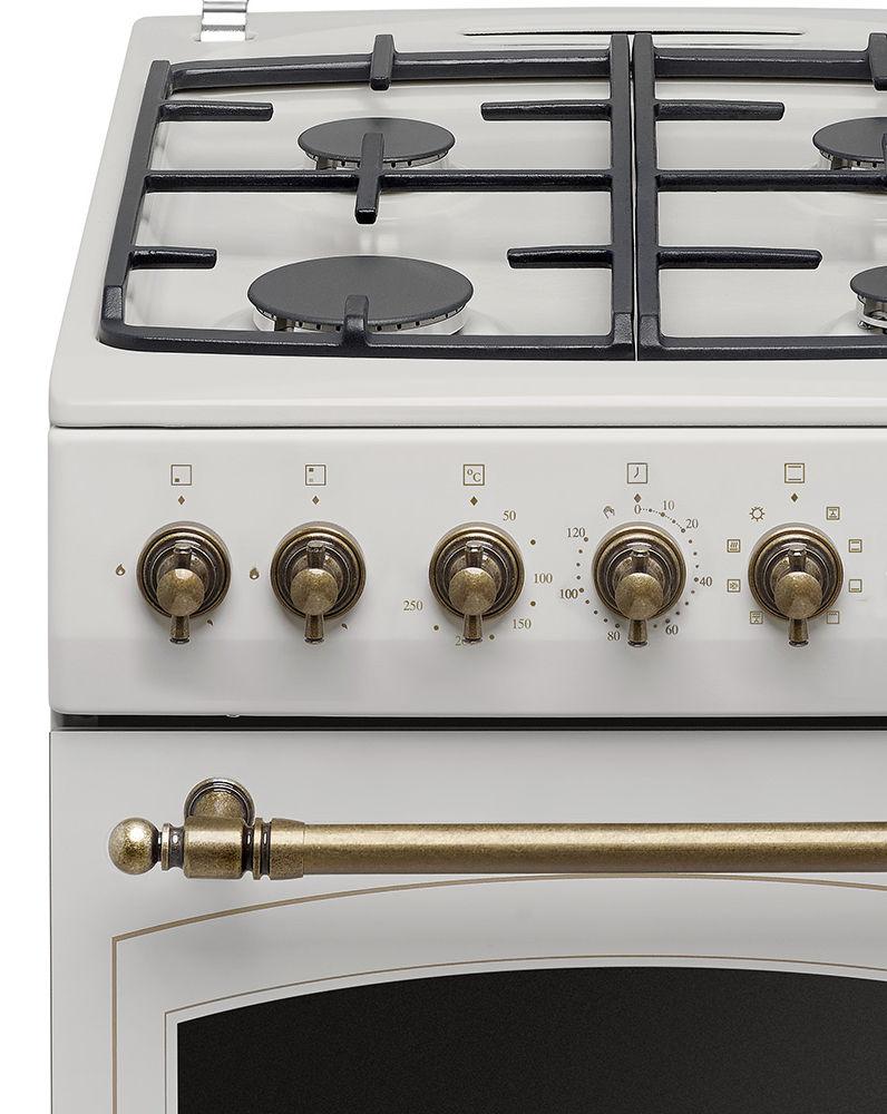 Kuchnia wolnostojąca gazowo elektryczna Amica RETRO 515GE2   -> Kuchnia Retro Amica