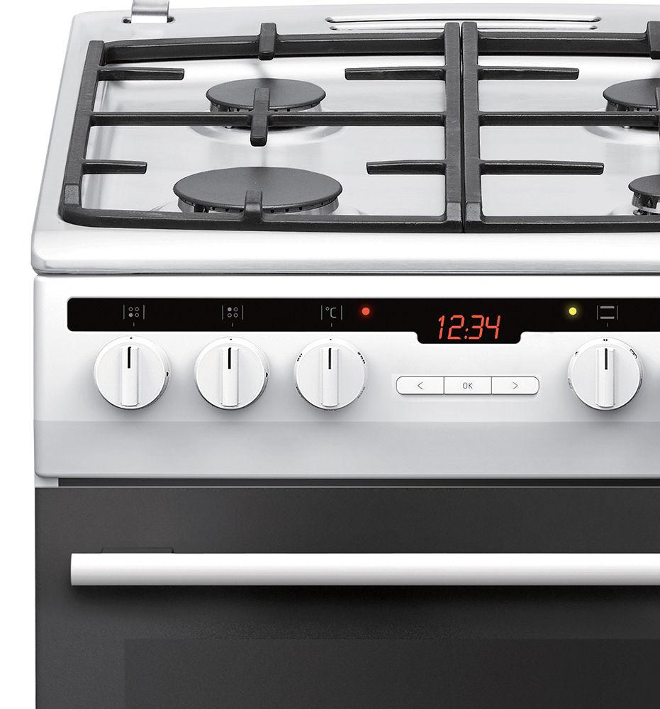 Kuchnia wolnostojąca gazowo elektryczna 500 57GE3 43HZpTaDNAQ(W)  Amica -> Kuchnia Elektryczna Wolnostojąca Amica