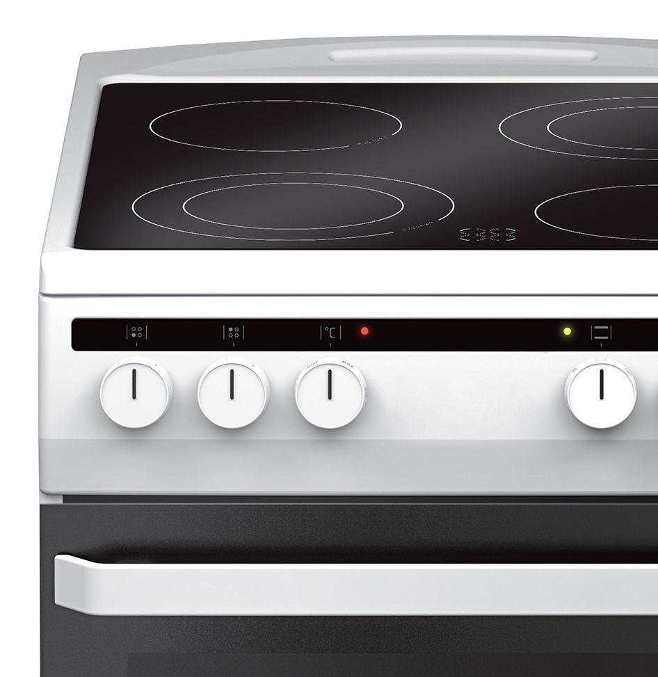 Free standing ceramic cooker 500 Line 58CE2 315HQ(W)  Amica -> Kuchnie Gazowe Amica Akcesoria