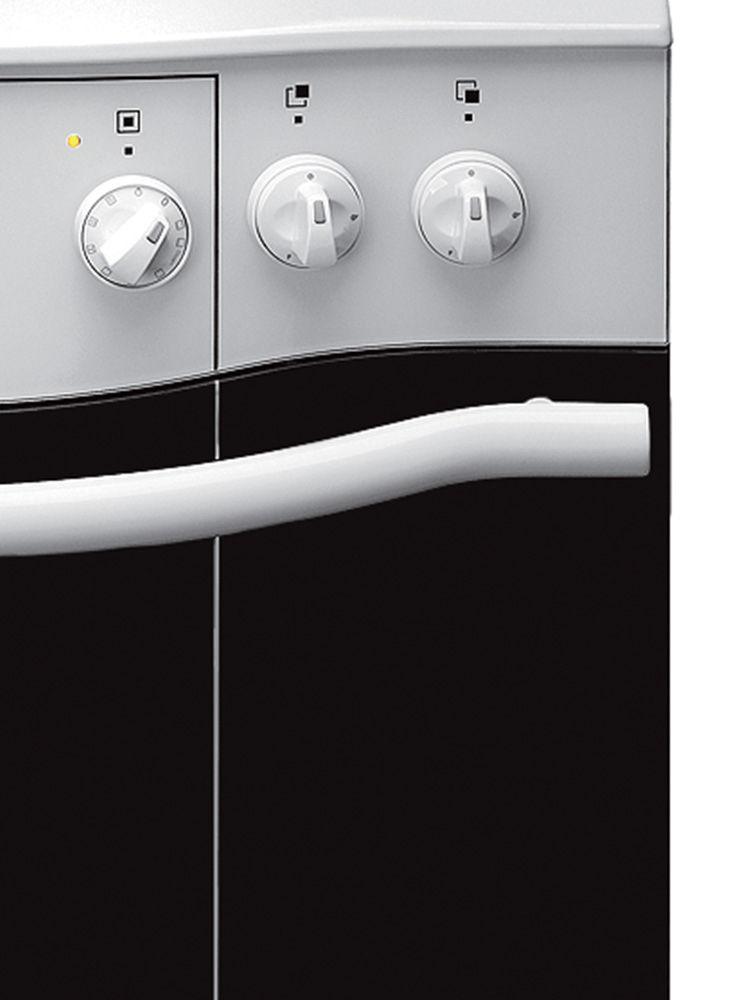 Kuchnia wolnostojąca gazowo elektryczna Amica IMPRESSION 608GE3 43ZpTsKDNAQ(W  -> Kuchnia Elektryczna Amica Retro