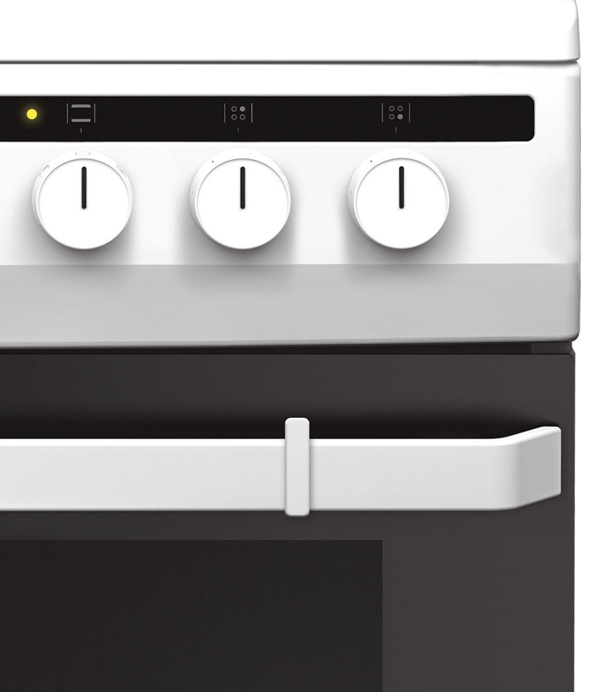 Kuchnia wolnostojąca ceramiczna 600 618CE3 333HQ(W)  Amica -> Kuchnia Elektryczna Wolnostojąca Ceramiczna