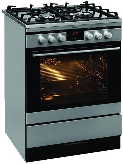 Kuchnia wolnostojąca gazowo elektryczna Amica INTEGRA 614GcE3 43ZpTsAQ(XL)  -> Kuchnie Elektryczne Wolnostojące Amica