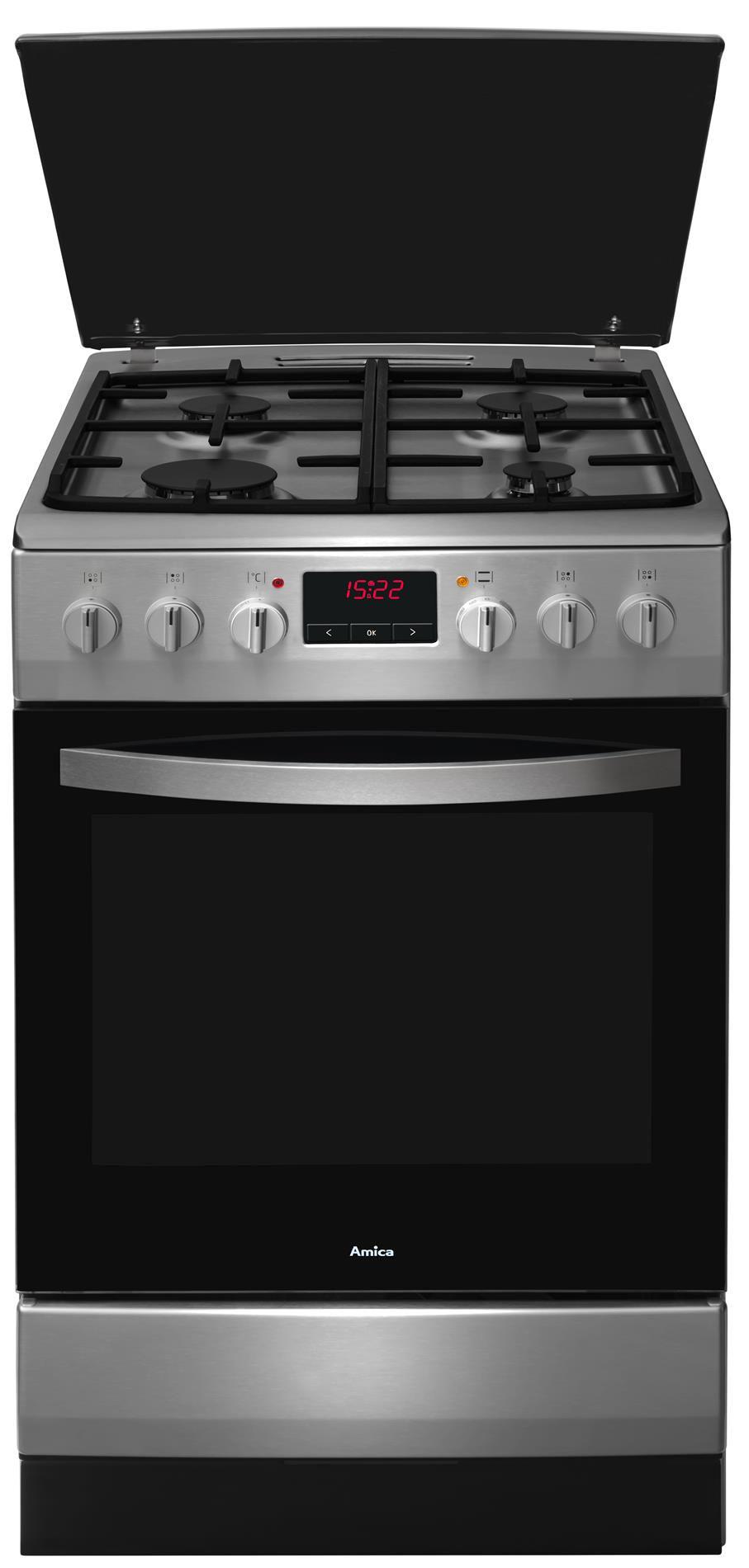 Kuchnia wolnostojąca gazowo elektryczna 500 520GE3 33ZpTaDpAQ(Xx)  Amica -> Kuchnia Gazowo Elektryczna Oddam