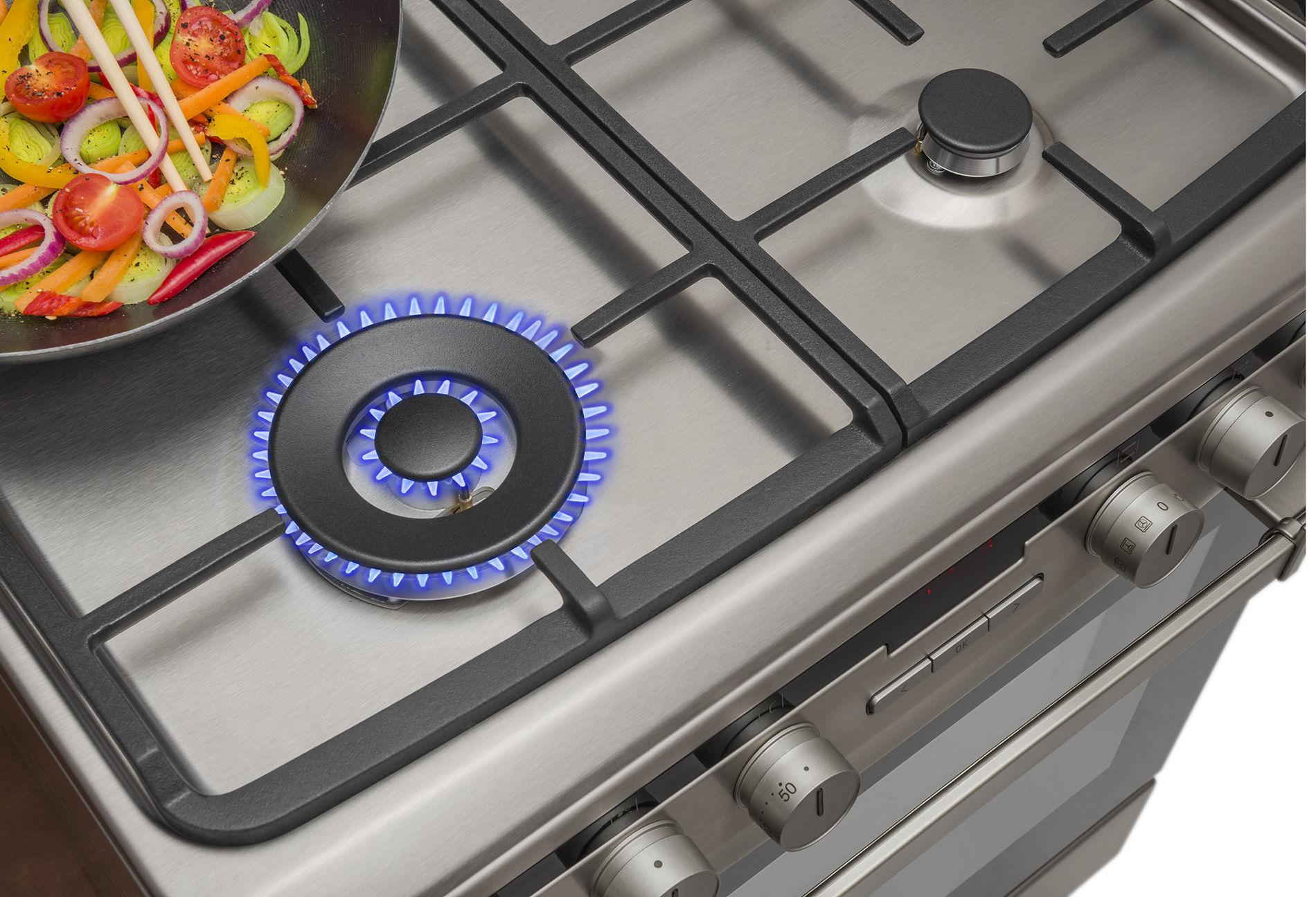 Kuchnia wolnostojąca gazowo elektryczna 600 618GE3 39HZpTaDpNAQ(Xx)  Amica