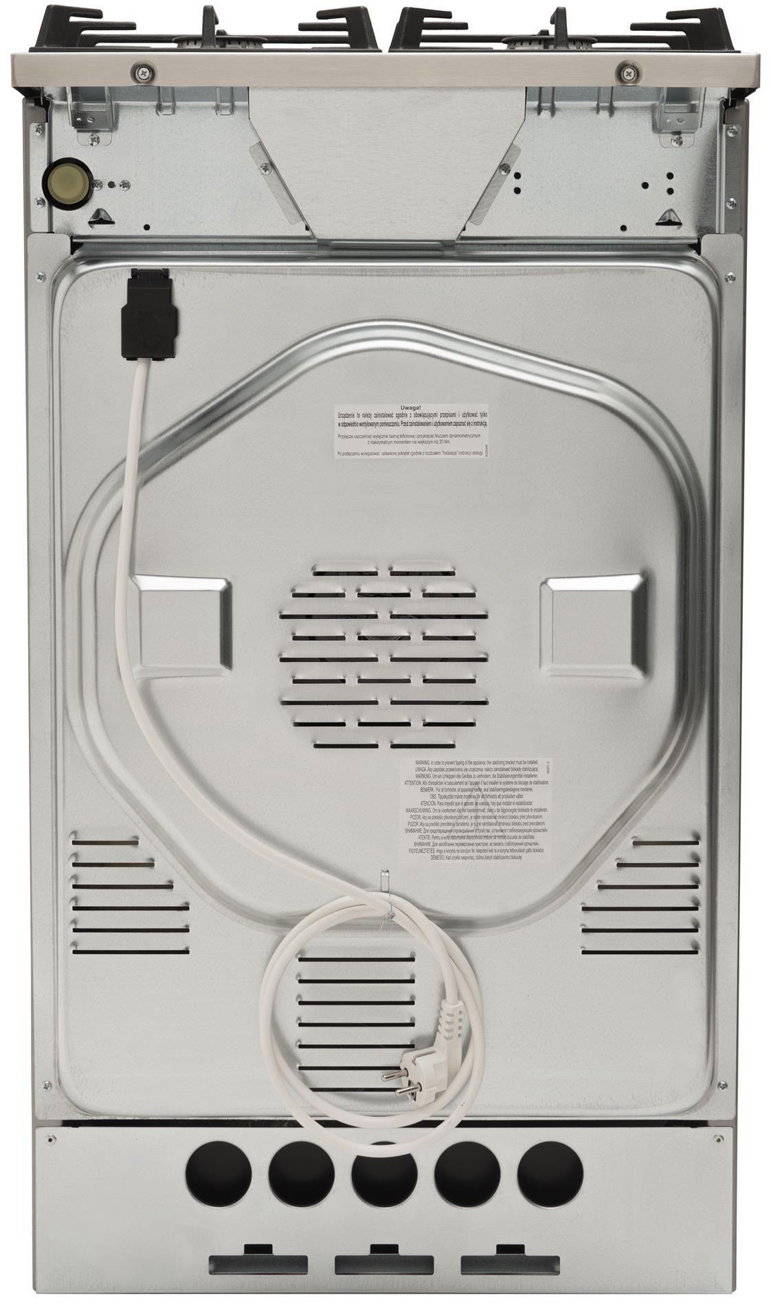 Kuchnia wolnostojąca gazowo elektryczna 514GcED3 43ZpTsKDAQ(XxL)  Amica
