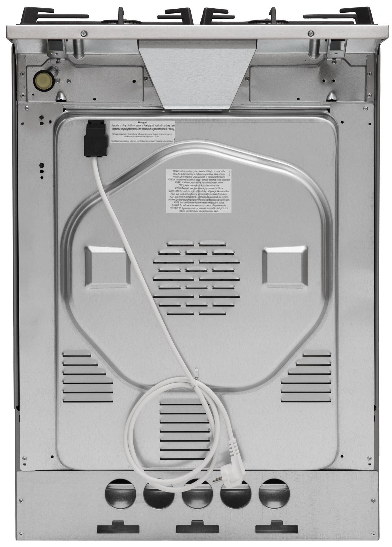 Kuchnia wolnostojąca gazowo elektryczna 614GcES3 43ZpTsKDpAQ(XL)  Amica -> Kuchnie Elektryczne Wolnostojące Amica