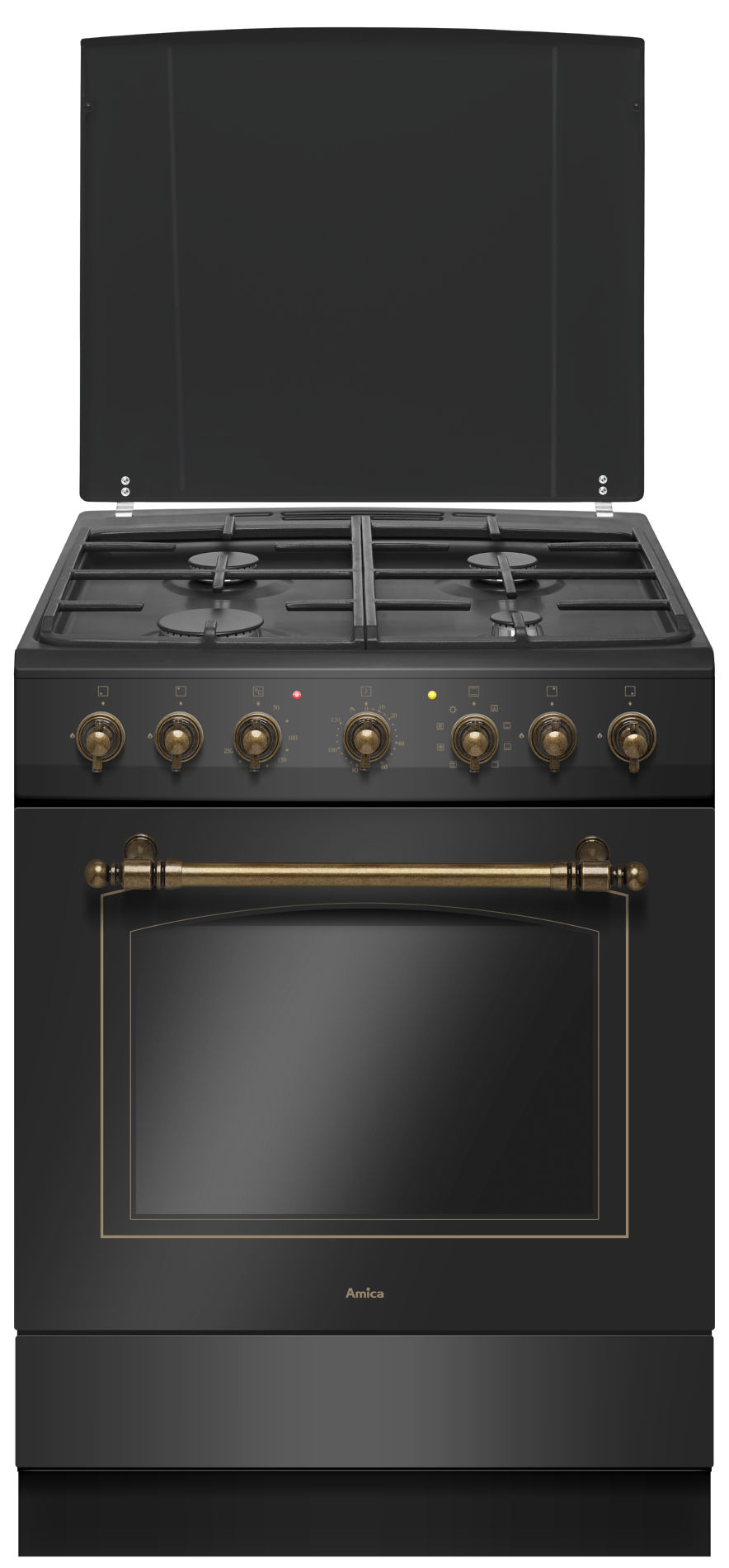 Free Standing Gas Electric Cooker Amica Retro 621ge233zpmsdpabm