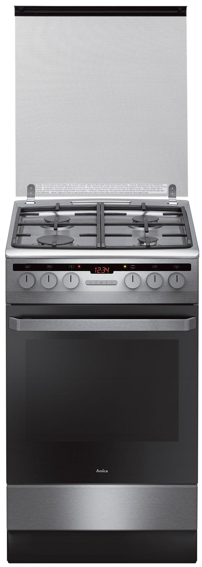 Free standing gas electric cooker 58GED3 33HZpTaDNAQ(Xx)  Amica -> Kuchnia Amica Super Line Instrukcja