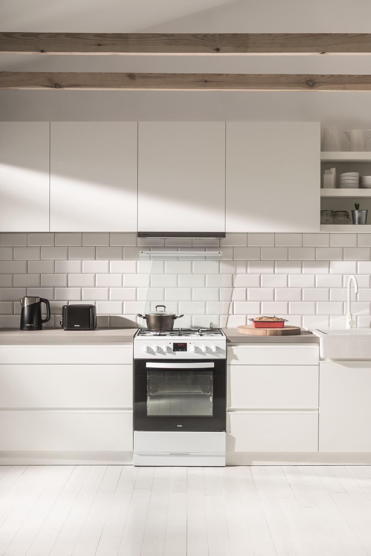 Kuchnia wolnostojąca gazowo elektryczna 600 620GE3 33ZpTaDpNQ(W)  Amica -> Kuchnia Amica Instrukcja Obslugi Piekarnika