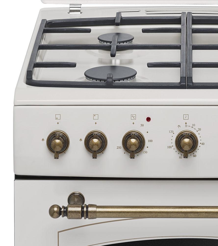 Kuchnia wolnostojąca gazowo elektryczna Amica RETRO 621GE2   -> Kuchnie Gazowe Amica Akcesoria