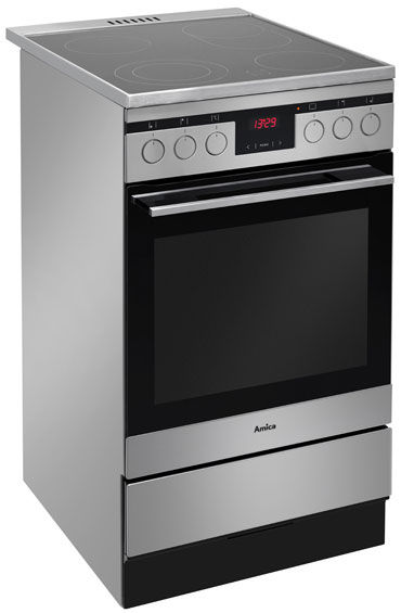 Free standing ceramic cooker 500 Line 514CE3 413TsKDHaQ(XL)  Amica