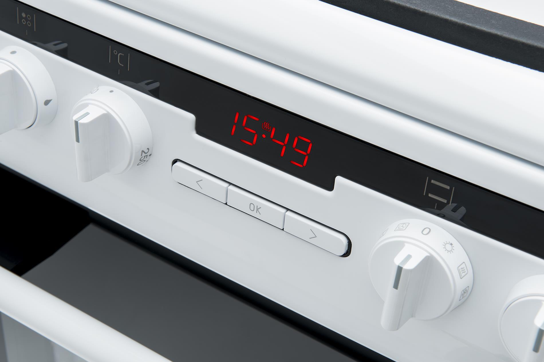 Kuchnia wolnostojąca gazowo elektryczna 500 57GE3 33HZpTaDpAQ(W)  Amica -> Kuchnie Elektryczne Wolnostojące Amica