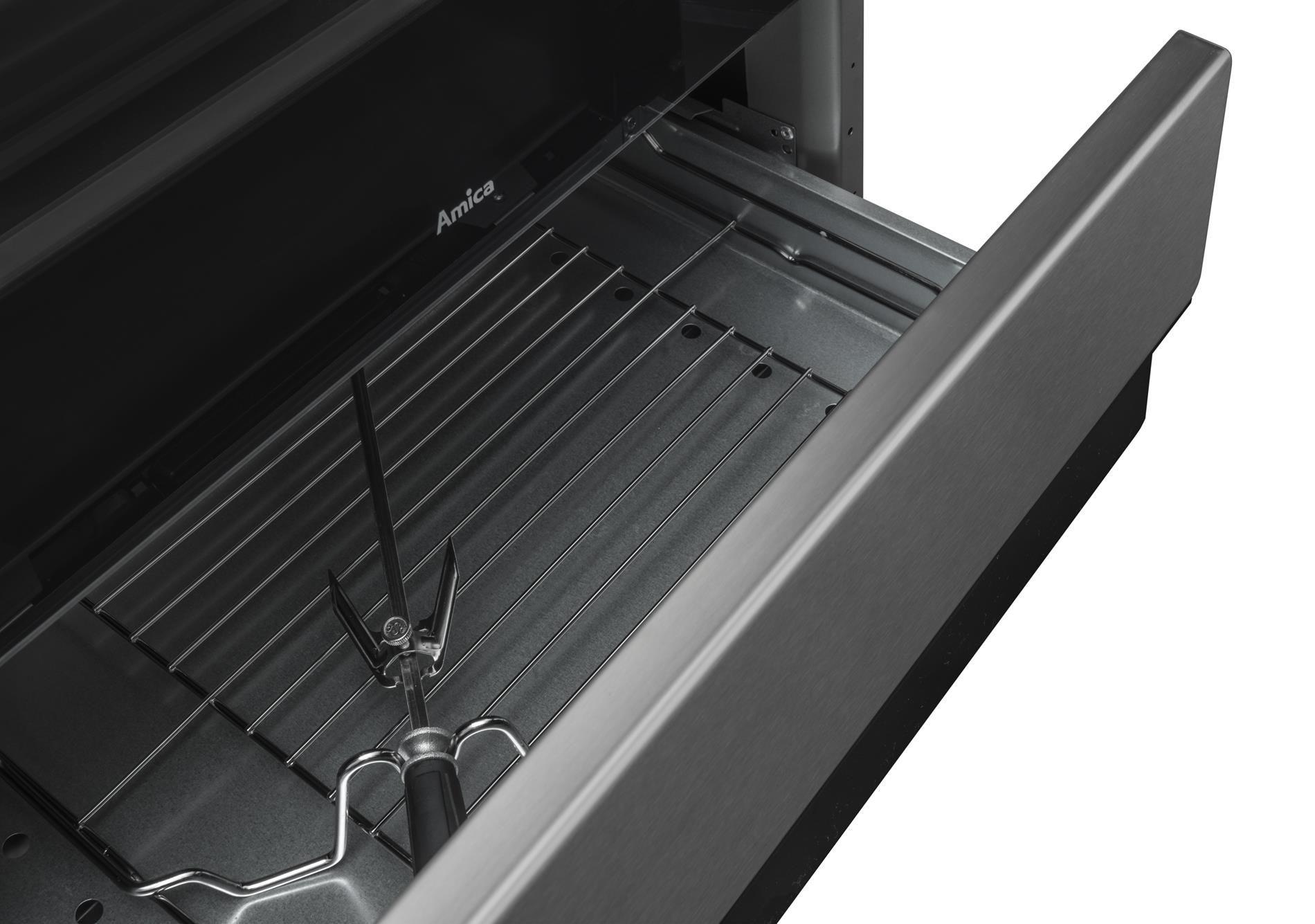 Free standing gas electric cooker 58GED3 33HZpTaDNAQ(Xx   -> Kuchnie Gazowe Amica Akcesoria