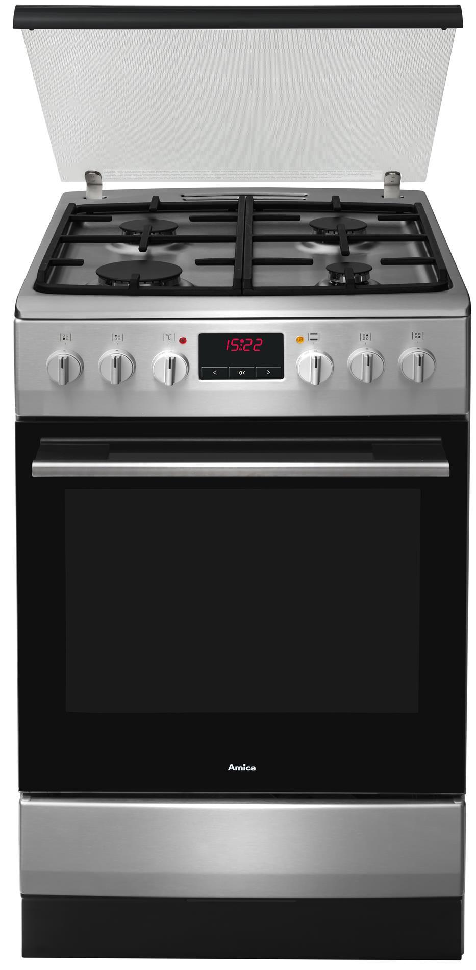 Free standing gas electric cooker 510GEH3 43ZpTaDNA(Xx   -> Kuchnie Gazowe Amica Akcesoria