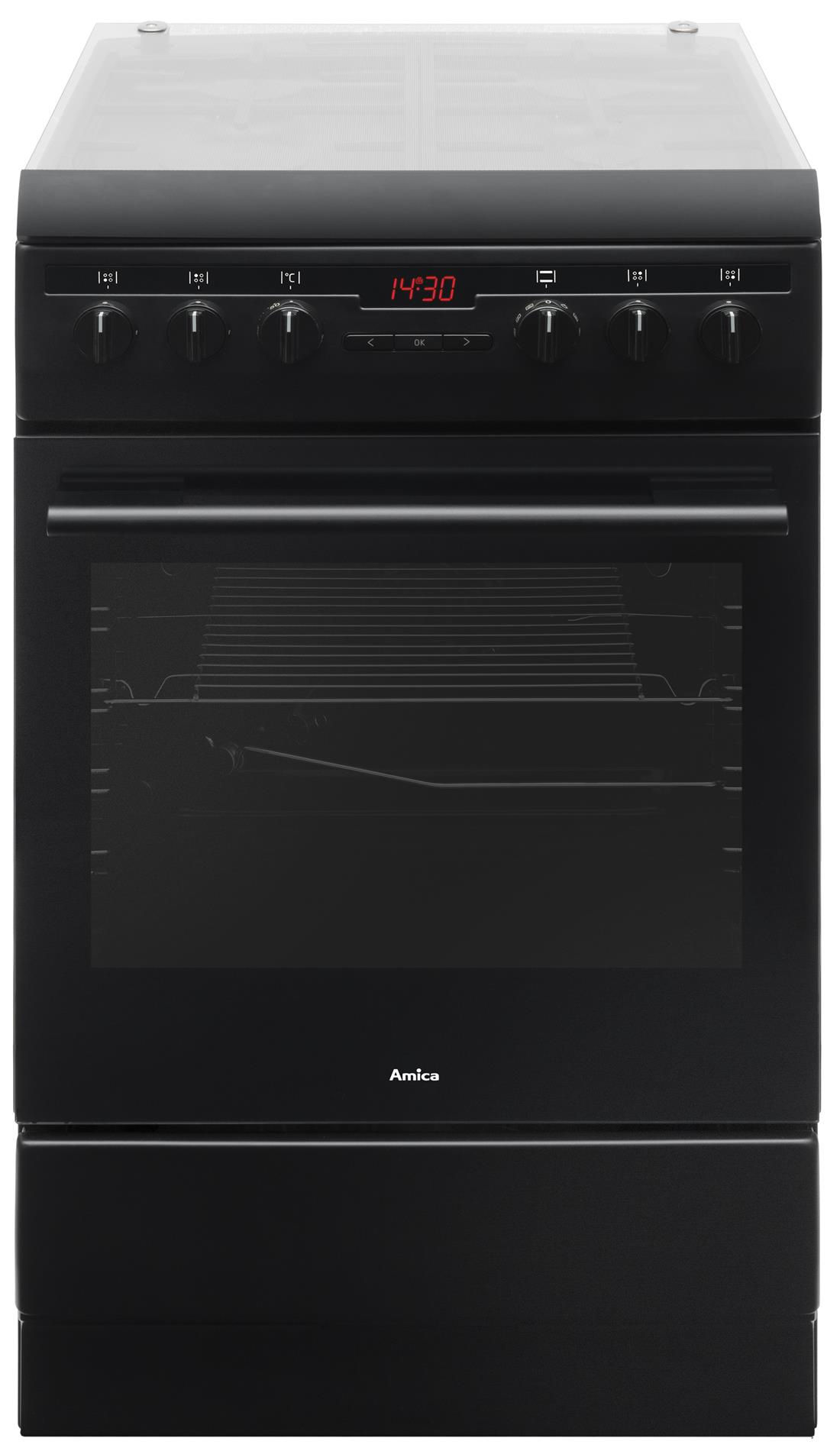 Free standing gas electric cooker 57GES3 43HZpTaDNA(Bm