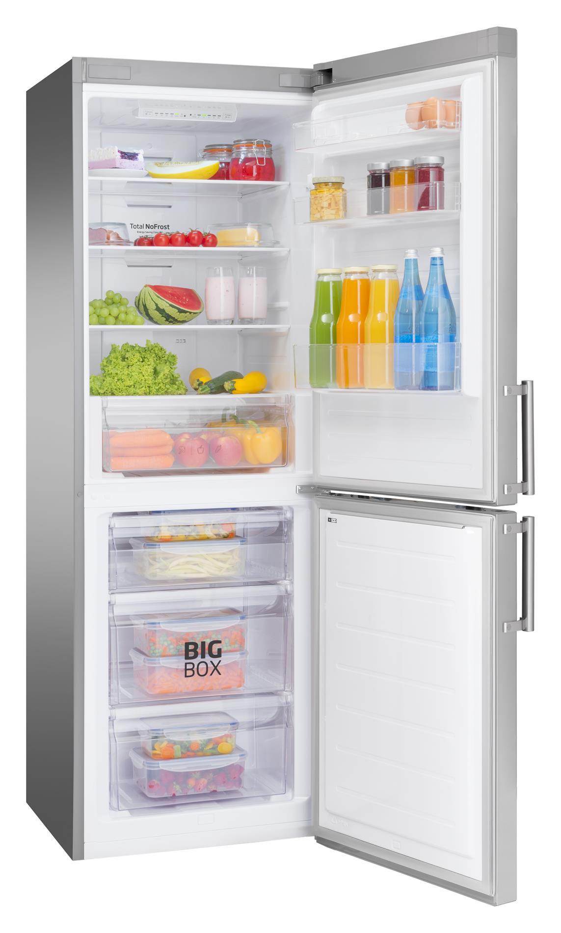 Free Standing Fridge Freezer Fk2856 3fx Amica