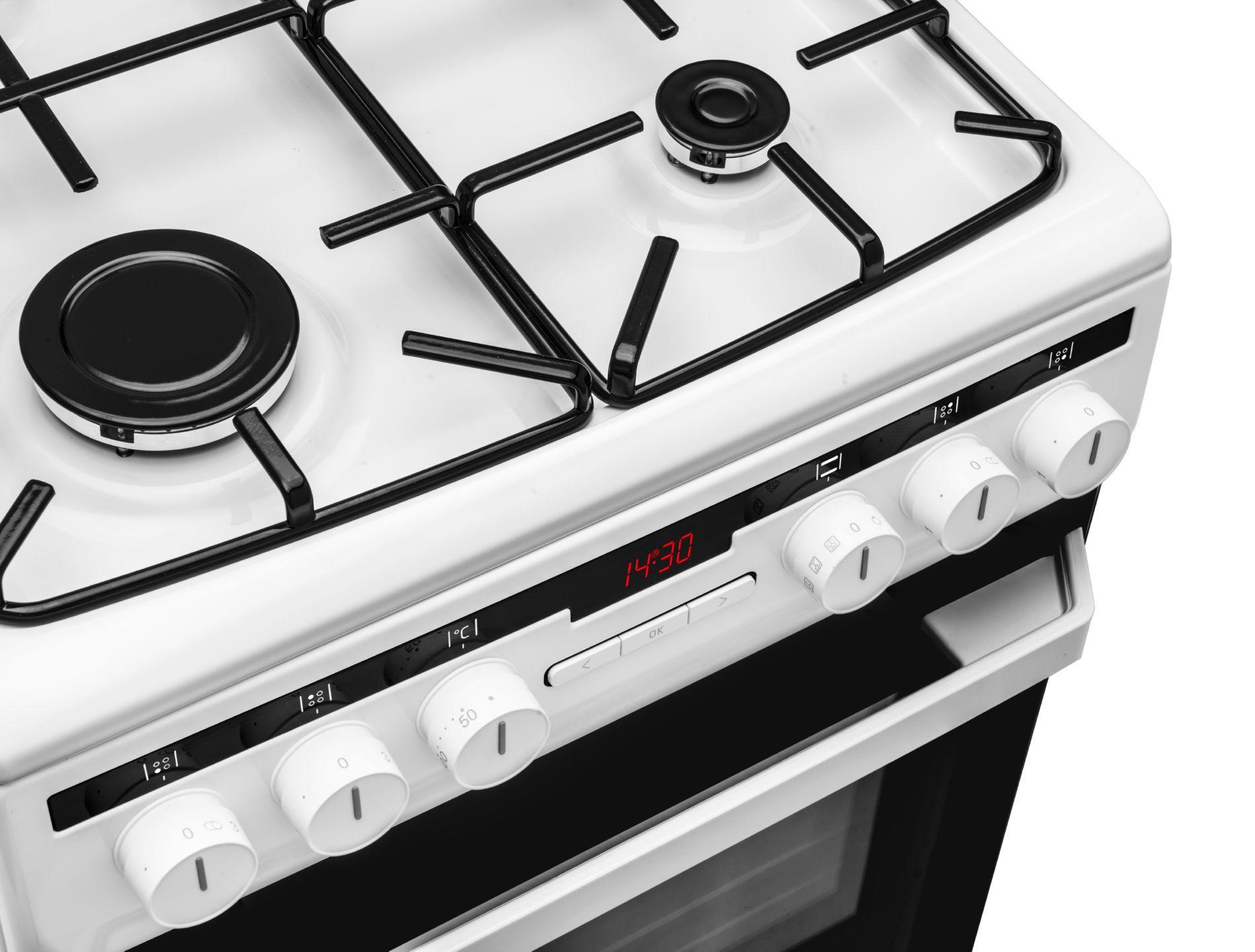 Kuchnia wolnostojąca gazowo elektryczna 58GED2 33HZpTaQ(W   -> Kuchnia Amica Drzwi