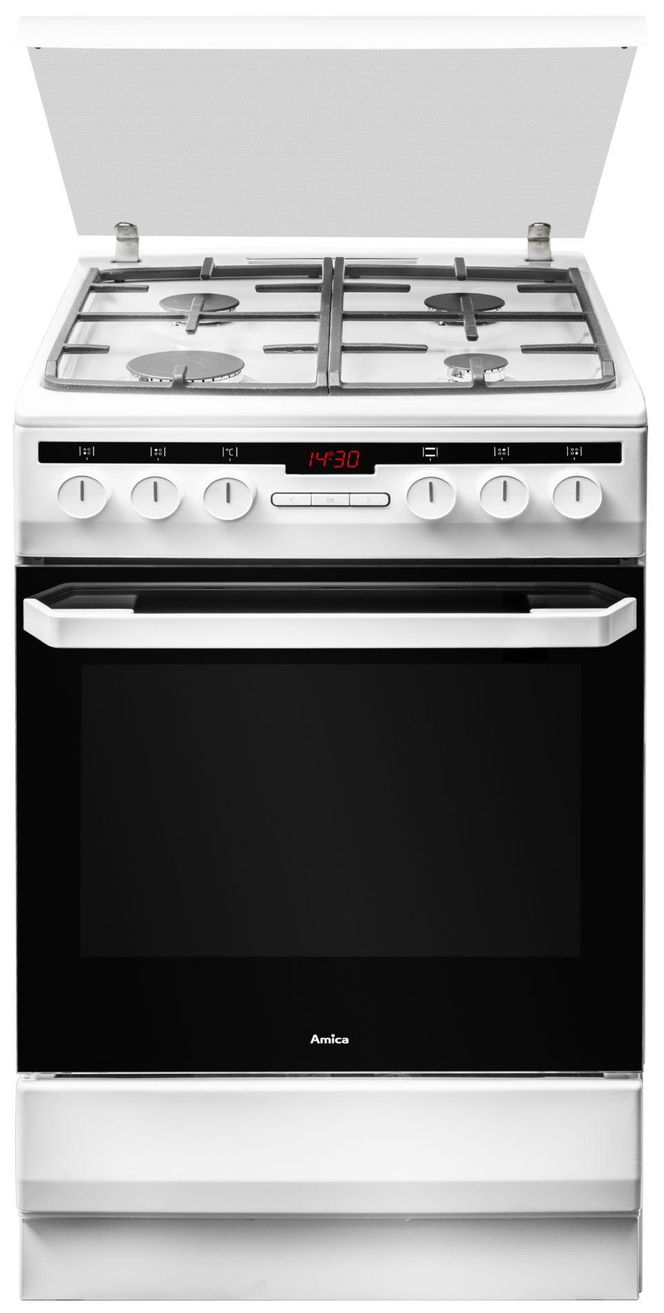 Kuchnia wolnostojąca gazowo elektryczna 58GED3 43HZpTaDNAQ(W)  Amica -> Kuchnia Gazowa Amica Cześci Zamienne