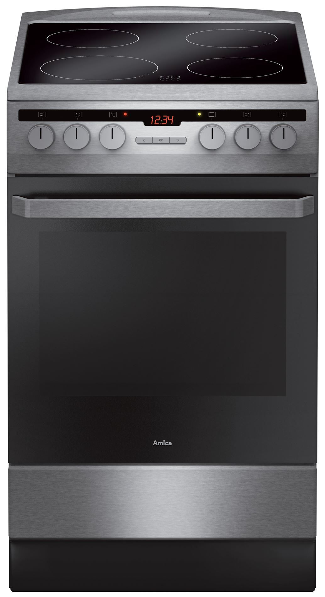 Free standing induction cooker 58IES3 318HTaDQ(Xv)  Amica -> Kuchnie Gazowe Amica Akcesoria