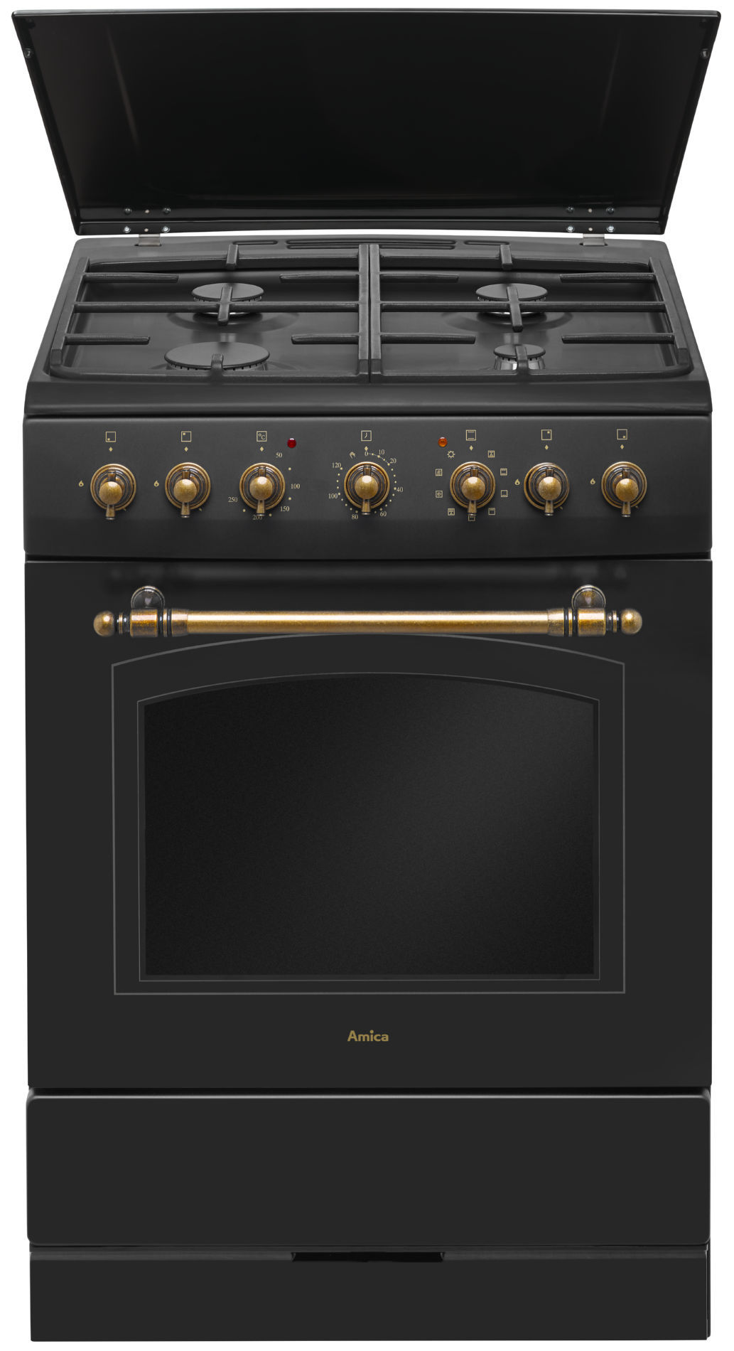 Free Standing Gas Electric Cooker Amica Retro 621ge2